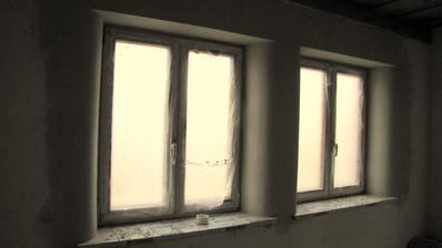 Okná do ulice .To ešte nieje finálna podoba.