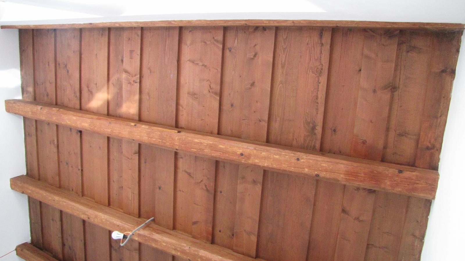 Rekonštrukcia starého domčeka - STROP