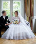 Svadobné šaty 32/34, 32