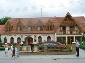 Tady se konala hostina-penzion U Kalába v Olšanech