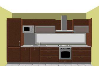 kuchyna, prvy navrh
