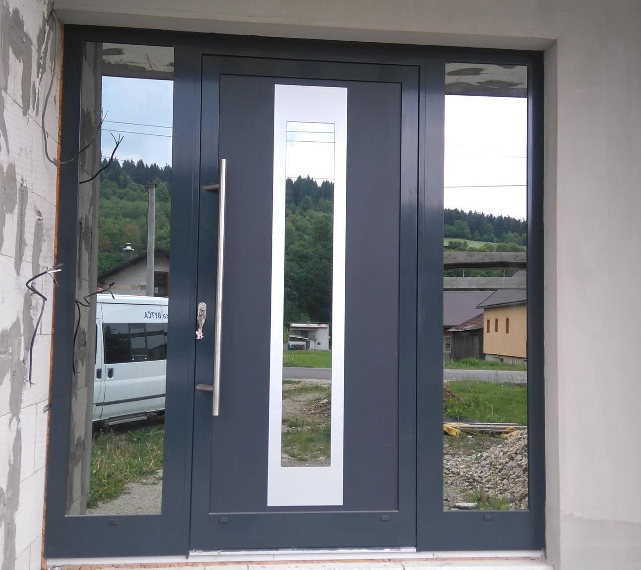 vchodove_dvere_gavaplast - GAVA 412-hliníková dverná výplň