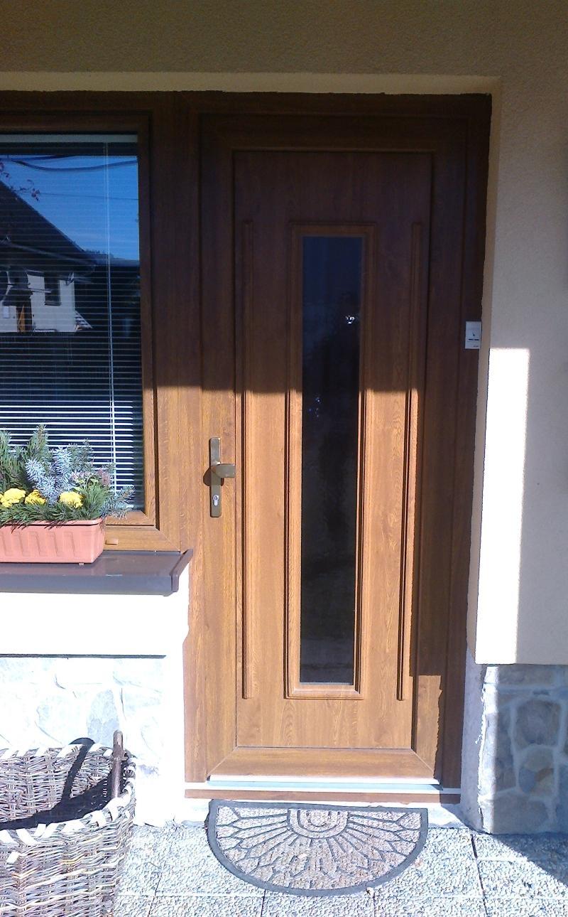 GAVA 151 - Vchodové dveře s plastovou dveřní výplní GAVA 151
