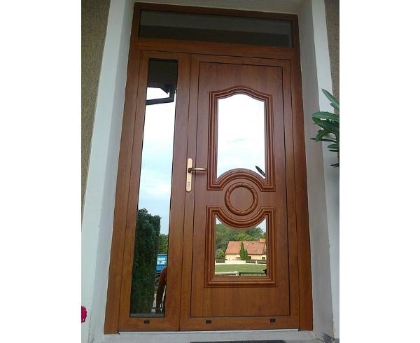 vchodove_dvere_gavaplast - GAVA 042- plastová dveřní výplní