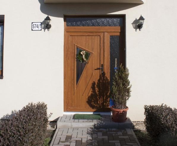 vchodove_dvere_gavaplast - GAVA 091L- plastová dveřní výplní