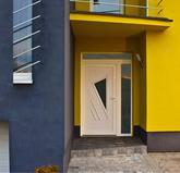 GAVA 091- plastová dveřní výplní