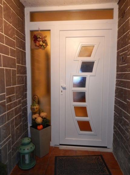 Vchodové dveře s dveřní výplní GAVA 292 - Vchodové dveře s plastovou dveřní výplní GAVA 292