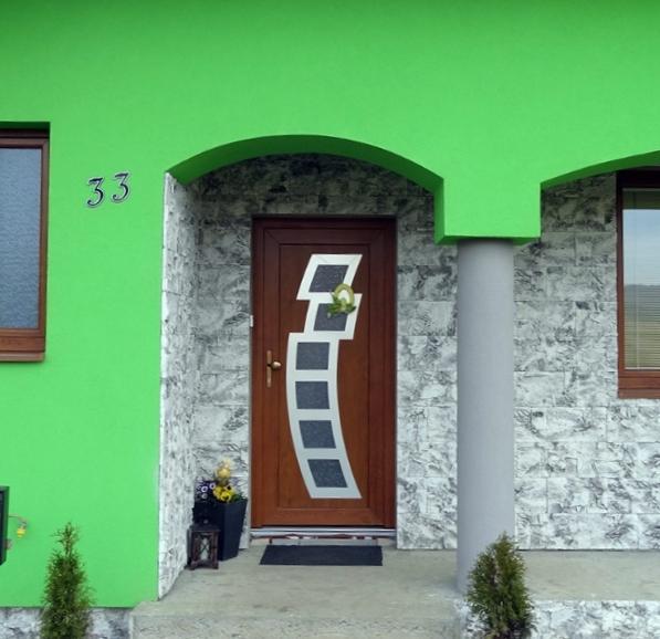 vchodove_dvere_gavaplast - Vchodové dveře s HPL dveřní výplní GAVA 892L