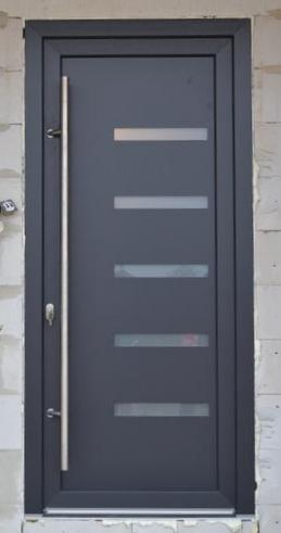 Vchodové dveře s HPL dveřní výplní - vchodové dveře s HPL dveřní výplní GAVA 916L