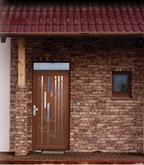 Vchodové dvere s hliníkovou dvernou výplňou GAVA 487a