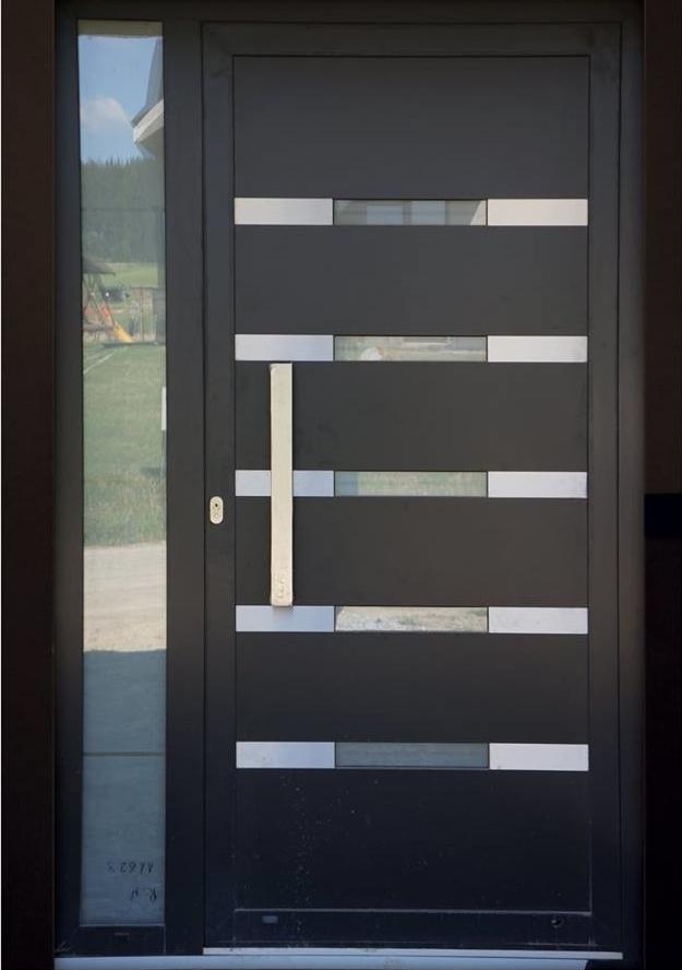 vchodove_dvere_gavaplast - Vchodové dveře s hliníkovou dveřní výplní GAVA 495