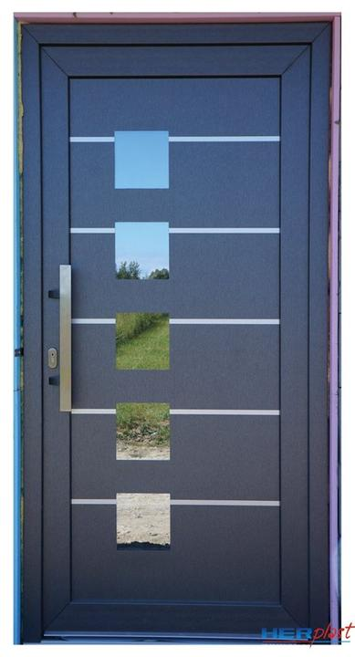 Vchodové dveře s HPL dveřní výplní - Vchodové dveře s HPL dveřní výplní GAVA 928