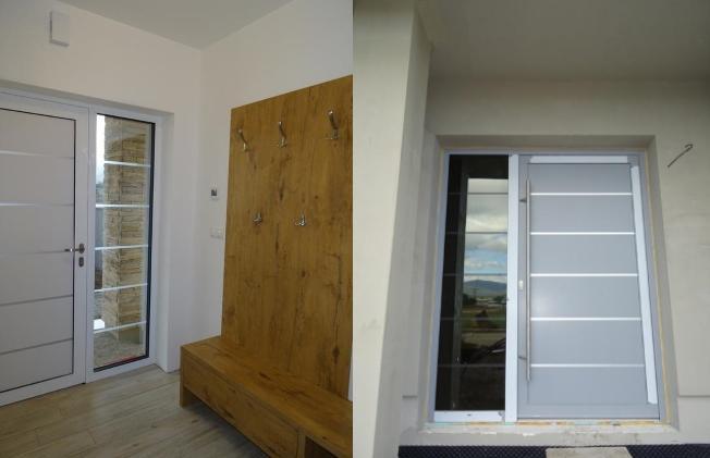 Vchodové dveře s HPL dveřní výplní - Vchodové dveře s HPL dveřní výplní GAVA 902
