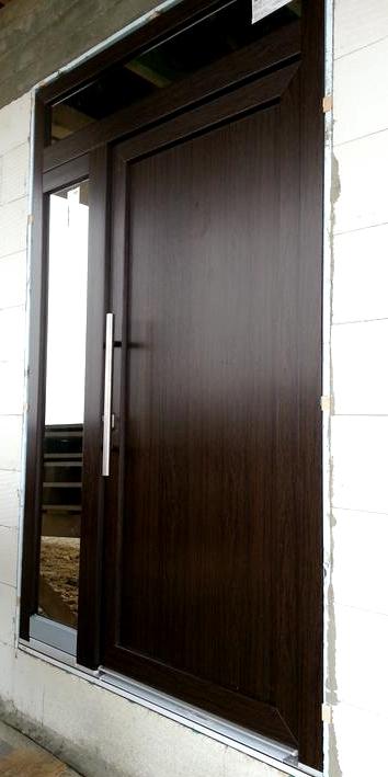 Vchodové dveře s HPL dveřní výplní - Vchodové dveře s HPL dveřní výplní GAVA 999