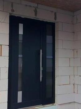 Vchodové dveře s HPL dveřní výplní - Vchodové dveře s HPL dveřní výplní GAVA 990