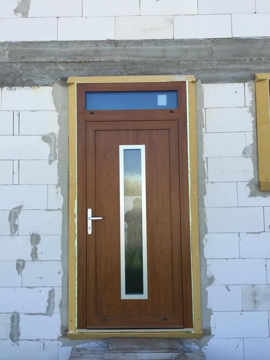 Vchodové dveře s HPL dveřní výplní - Vchodové dveře s HPL dveřní výplní GAVA 754