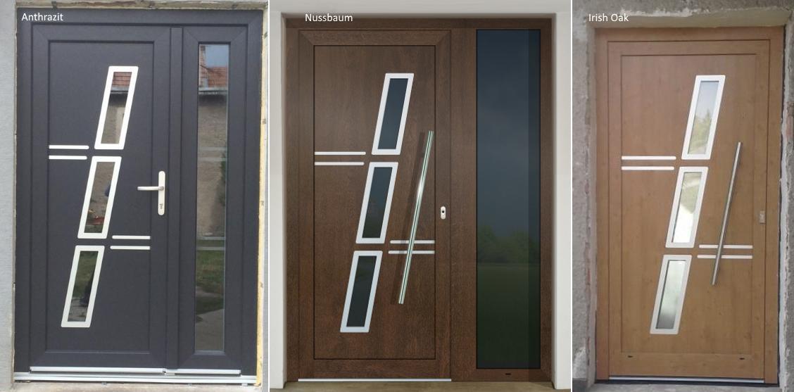 Vchodové dveře s HPL dveřní výplní - Vchodové dveře s HPL dveřní výplní GAVA 775