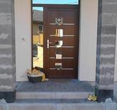 Vchodové dveře s HPL dveřní výplní GAVA 928