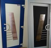 Vchodové dveře s HPL dveřní výplní GAVA 681