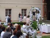 Ozvučení svatby v Ledeburských zahradách