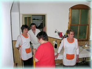 Kuchar a obsluha