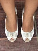 Svadobné topánky 2 páry , 37