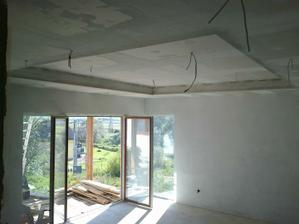 strop v obyvačke