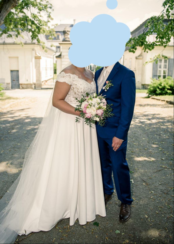 Svatební šaty od návrhářek Kabelková/Oplocká - Obrázek č. 1