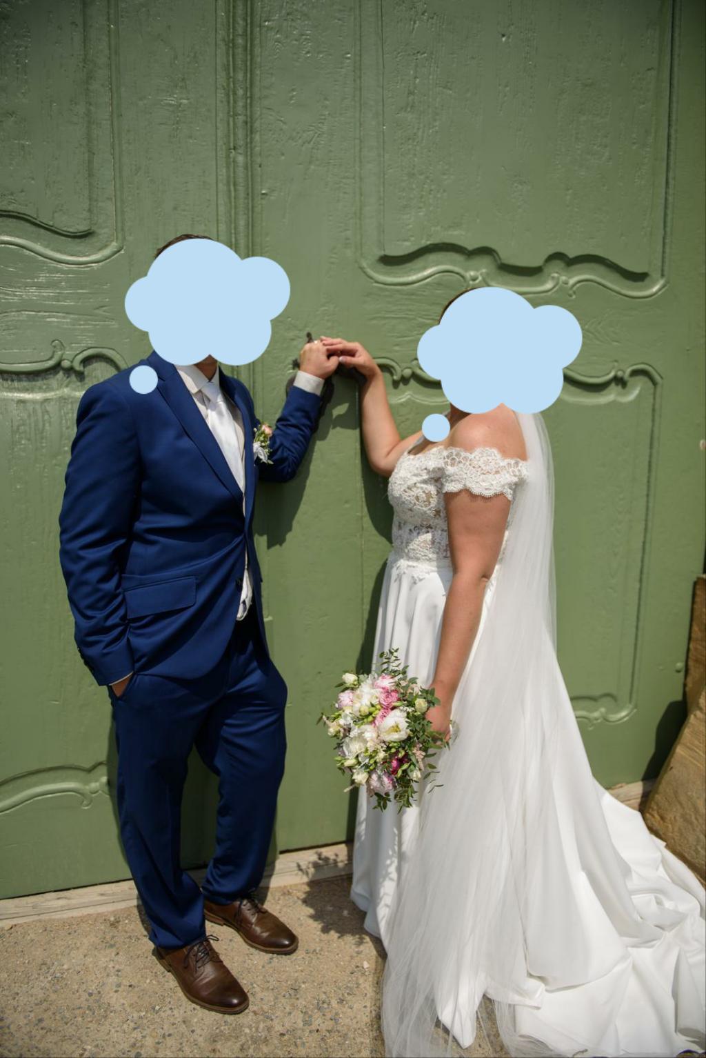 Svatební šaty od návrhářek Kabelková/Oplocká - Obrázek č. 4