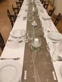 prodej kompletní svatební výzdoby stolů ,