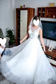 Svadobné šaty Hadassa, 36