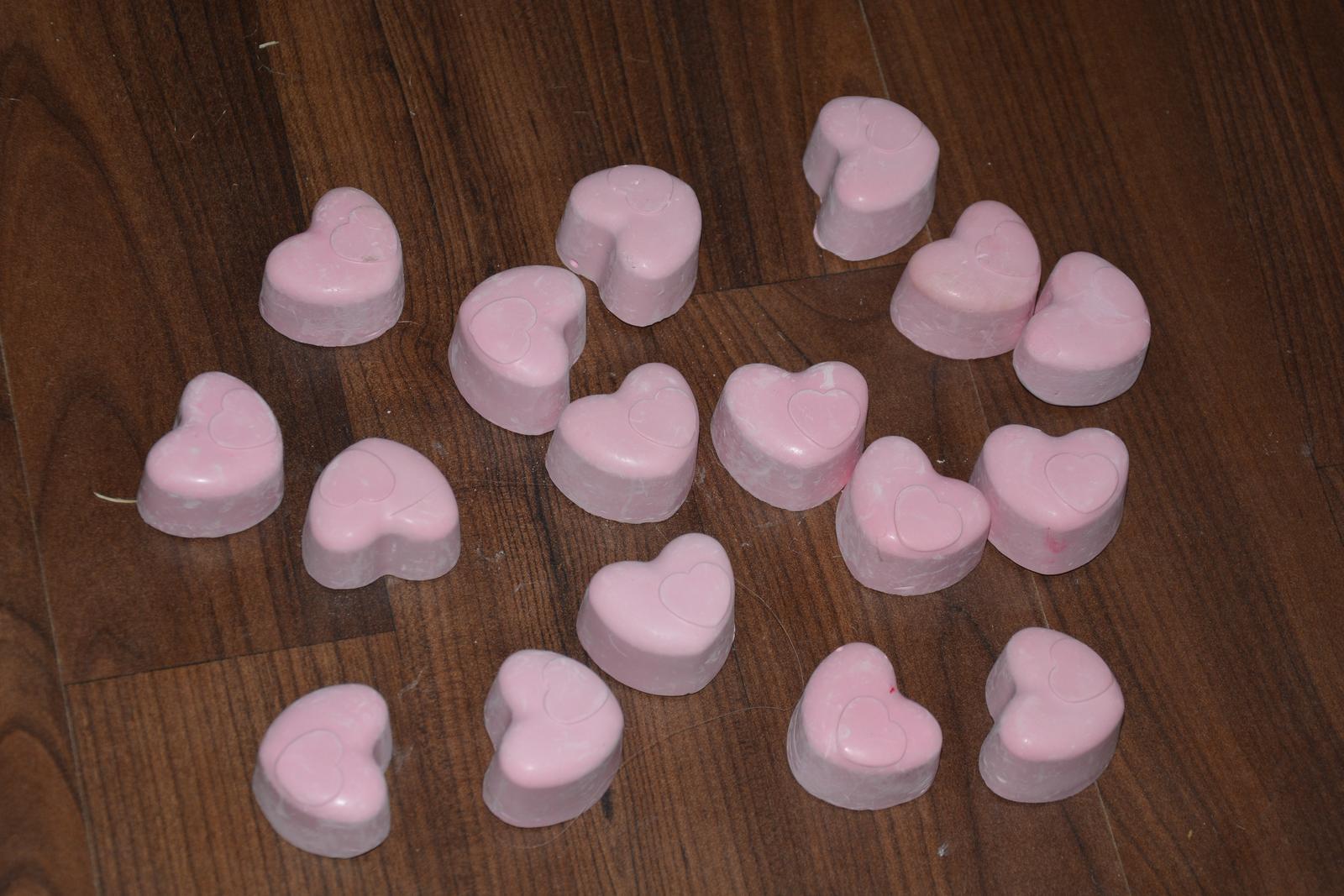 sádrová srdce - Obrázek č. 1