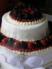 ovocný dortík také od Jarušky..