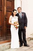 Svatební šaty, velikost 38, 38