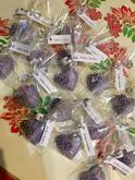 Levanduľové mydielka na želanie - 90 ks darčeky pre svadobčanov :)