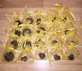 Priesvitné levanduľové mydielka - 15 ks ako darčeky :)