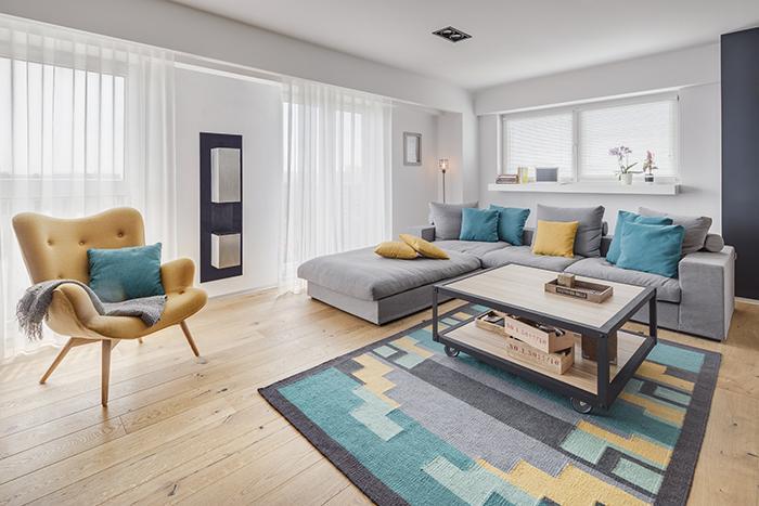 Zoženiem niekde takýto koberec alebo podobný? Aby tam bola žltá a tyrkysová? Ďakujem - Obrázok č. 1