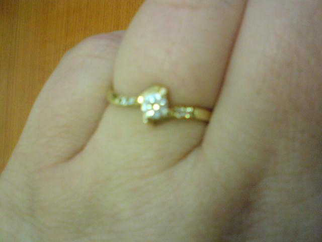 Eva a Martin 3.10.2009 - moj snubný prstienok