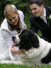 A nasa Arwenka na nasej svadba nemohla chybat :o)