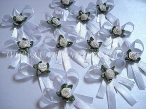 naše svatební voničky :-)