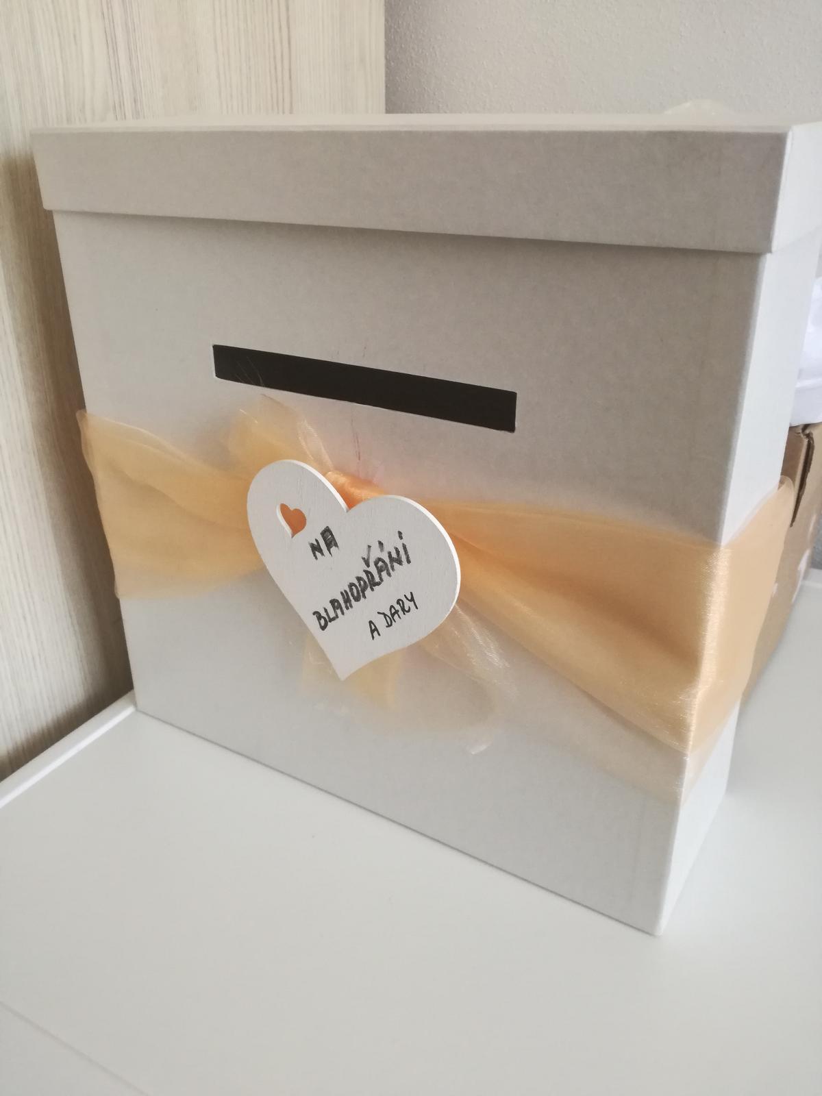 Krabice na blahopřání a dary - Obrázek č. 1