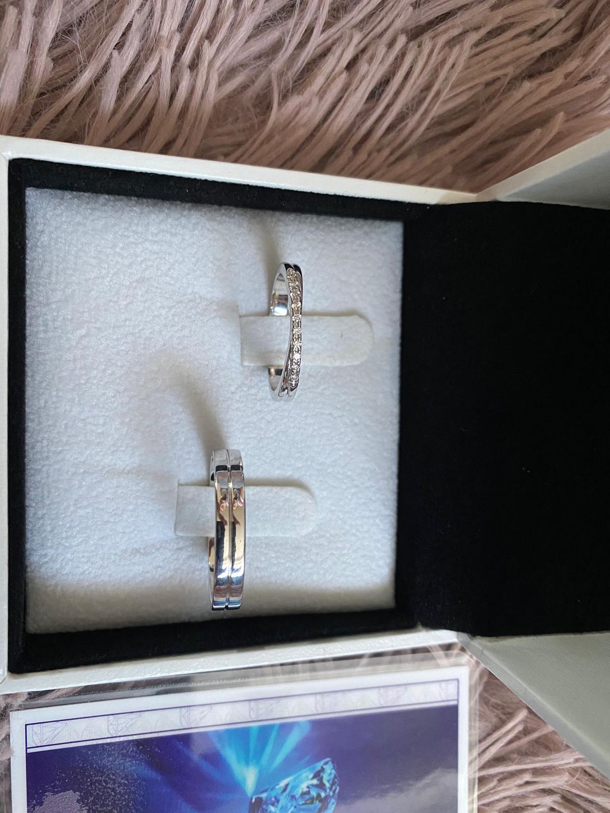 Snubní prsteny z bílého zlata - Obrázek č. 1