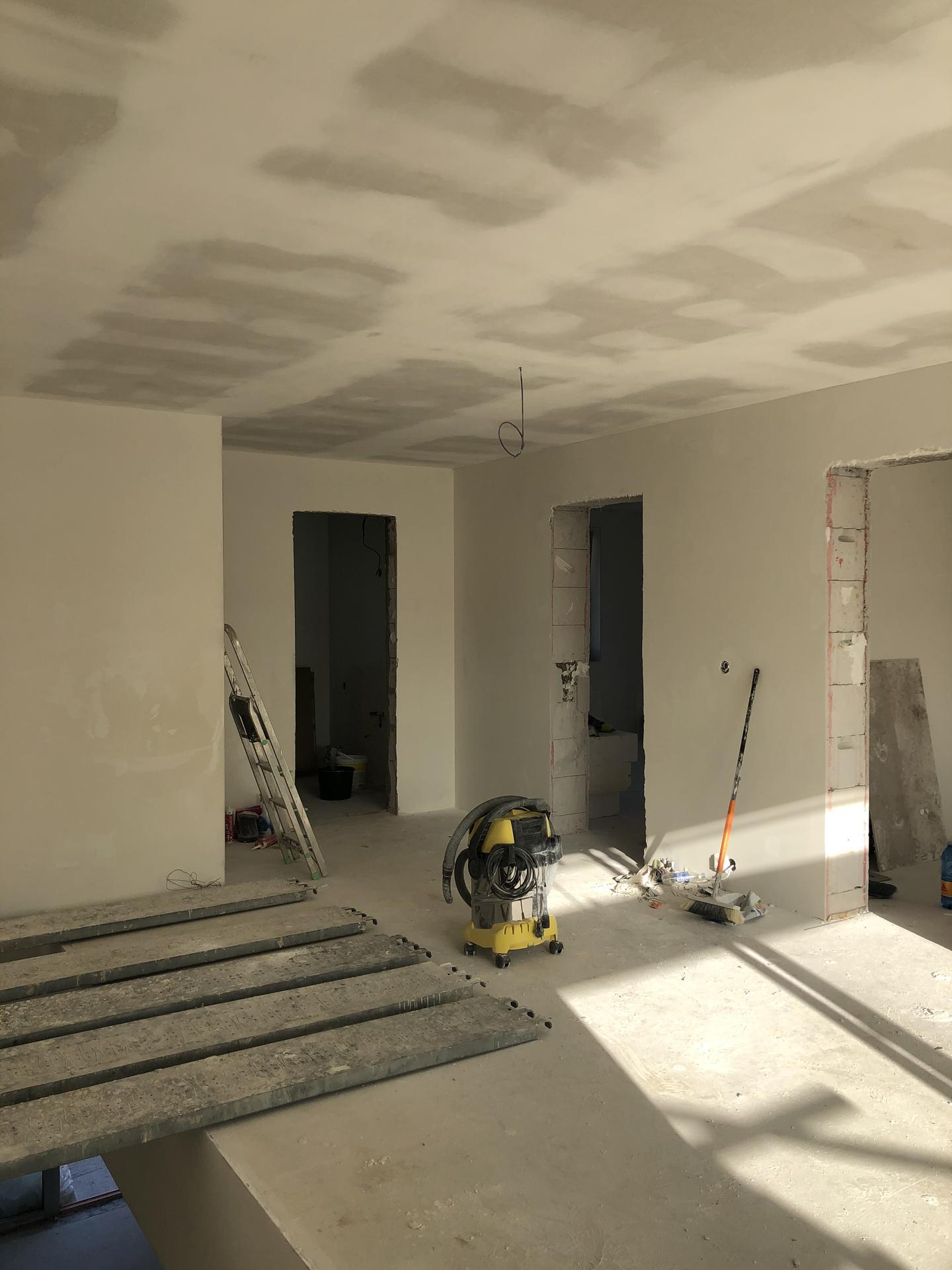 Rekonštrukcia domu - Sadrokartónový strop 2.np