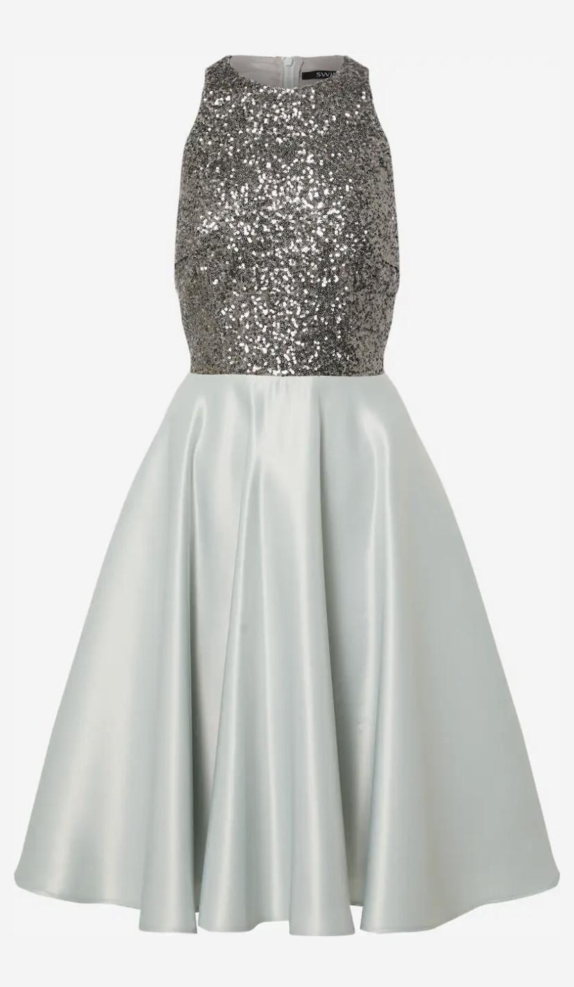 NOVÉ popolnočné šaty s flitrami (veľ. 40) - Obrázok č. 1