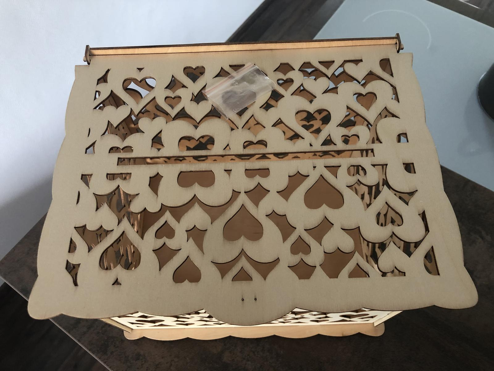 Krabička na blahoželania - Obrázok č. 1