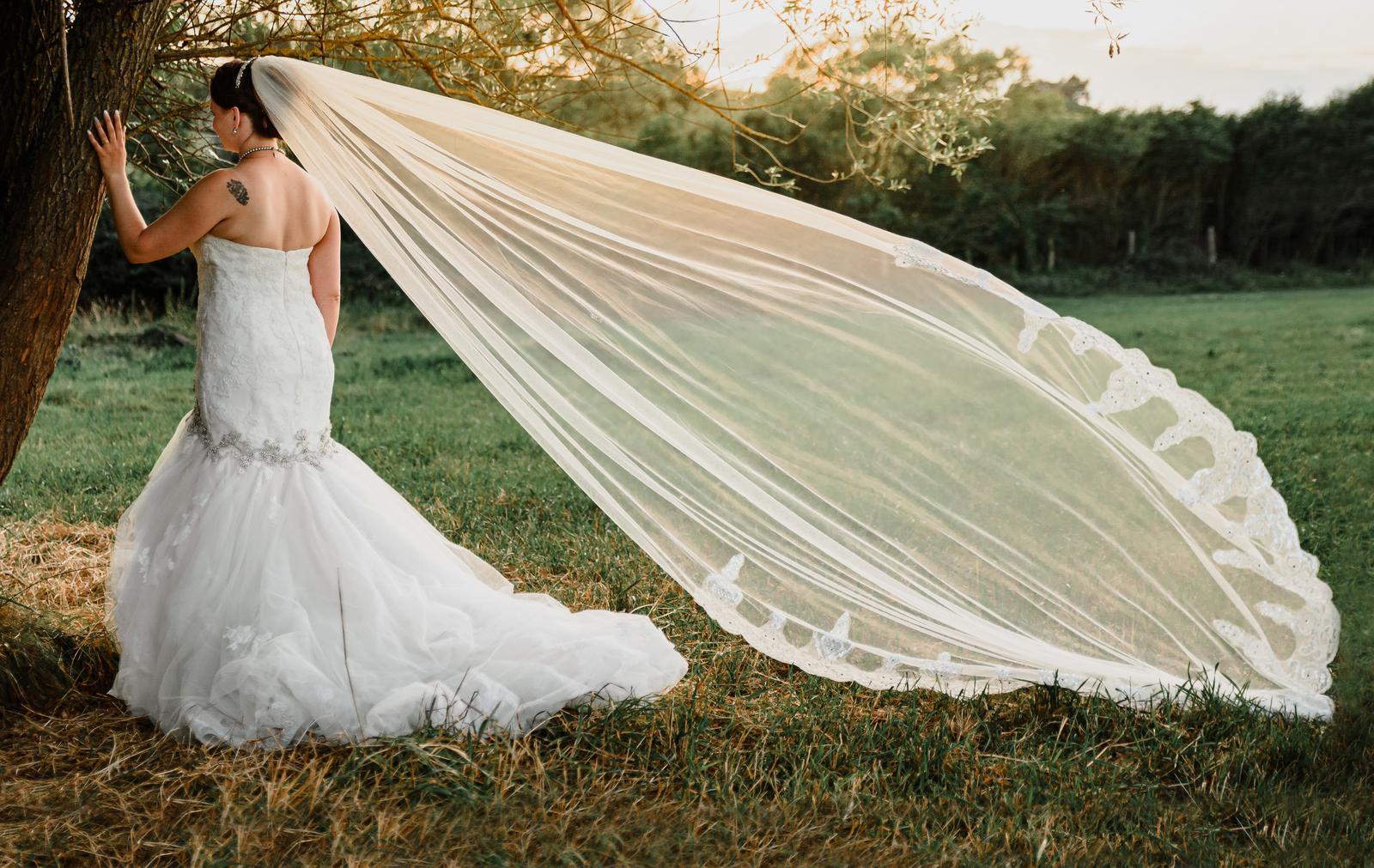 Svatební šaty - kupované v Dublinu, Bridal Corner - Obrázek č. 1