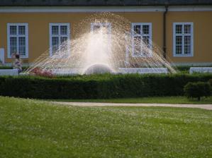a takáto fontána tam je :O)