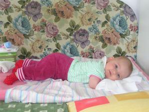 naše slniečko Terezka (4,5 mesiaca)