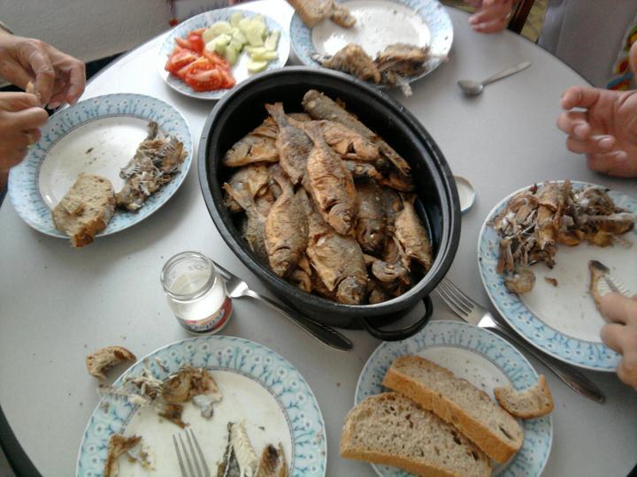 Pečení,vaření,grilování.....je libo něco dobrého do bříška ................ - Rybí hody
