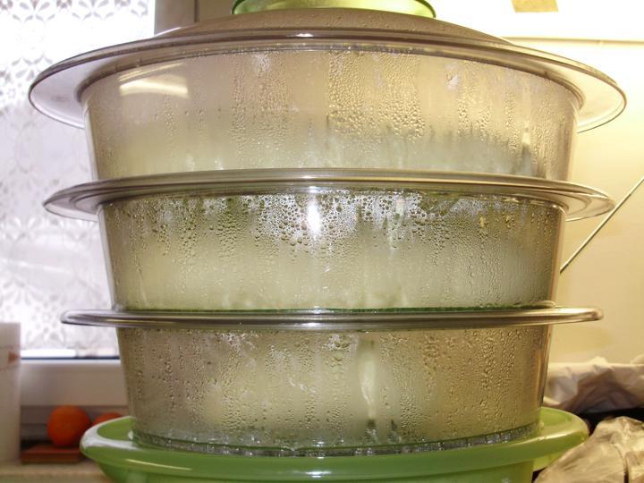 Pečení,vaření,grilování.....je libo něco dobrého do bříška ................ - Houskové knedlíky v páře